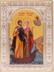 Петр и Феврония Муромские (18х24см)