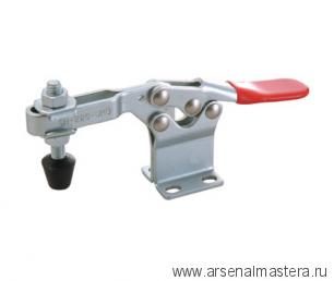 Зажим механический с горизонтальной ручкой усилие 227 кг GOOD HAND GH-225-DHB