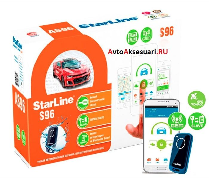 Автосигнализация StarLine S96 BT GSM/GPS