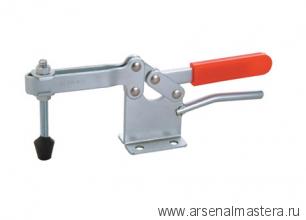 Зажим механический с горизонтальной ручкой усилие 400 кг, прижим 60мм, база 79мм GOOD HAND GH-200-WH