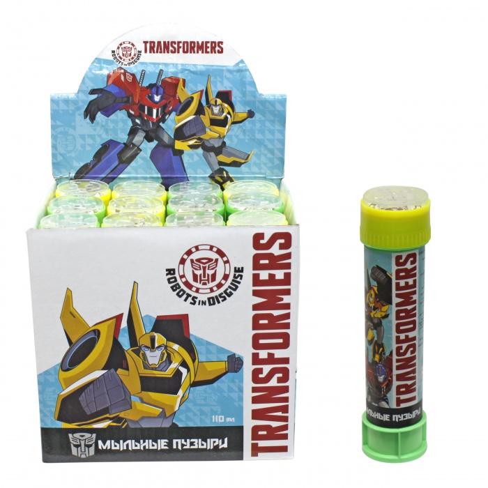 1toy Transformers, мыльные пузыри, бут. 110 мл