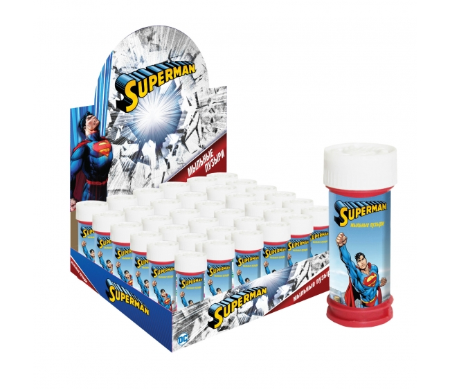 1toy Superman, мыльные пузыри, 50 мл