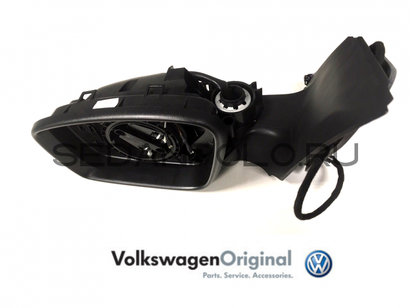 Зеркало левое (корпус) VAG для Volkswagen Polo Sedan