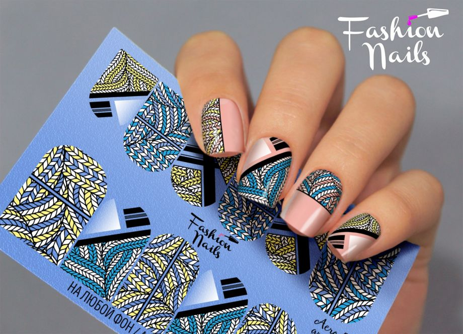 Слайдер дизайн Fashion Nails Aerography #41