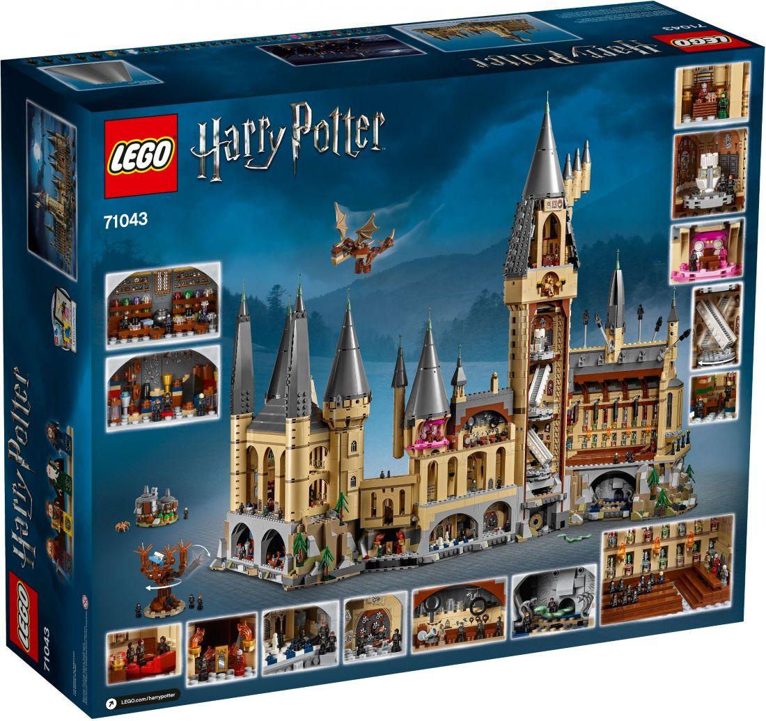 Замок Хогвартс. LEGO Гарри Поттер 71043