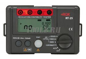 RGK RT-25 цифровой мегаомметр
