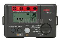 RGK RT-25 цифровой мегаомметр фото