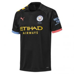 ФУТБОЛКА ИГРОВАЯ PUMA MCFC AWAY SHIRT REPLICA SS (AW19) 75559002