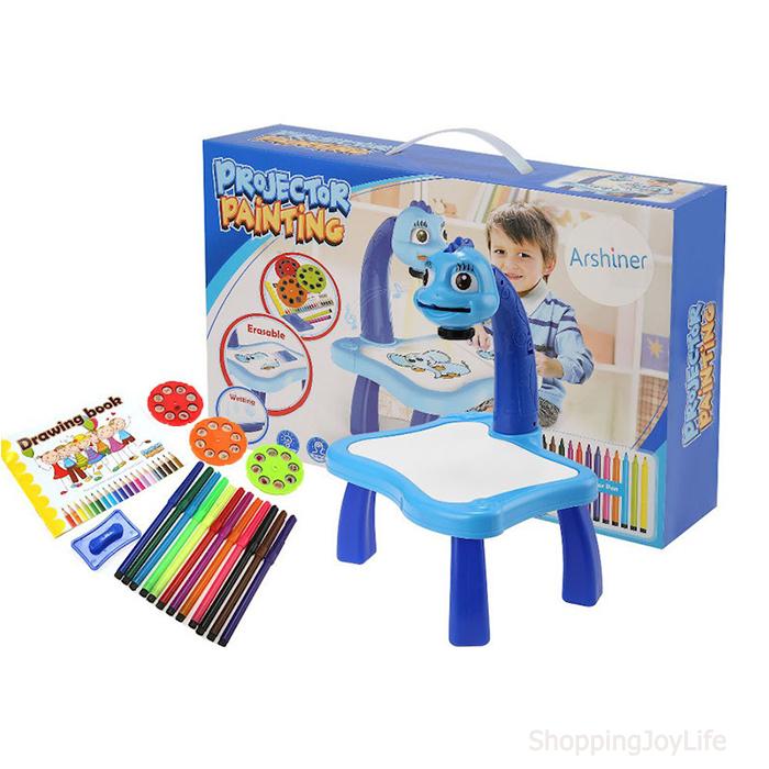 Детский проектор для рисования со столиком PROJECTOR PAINTING