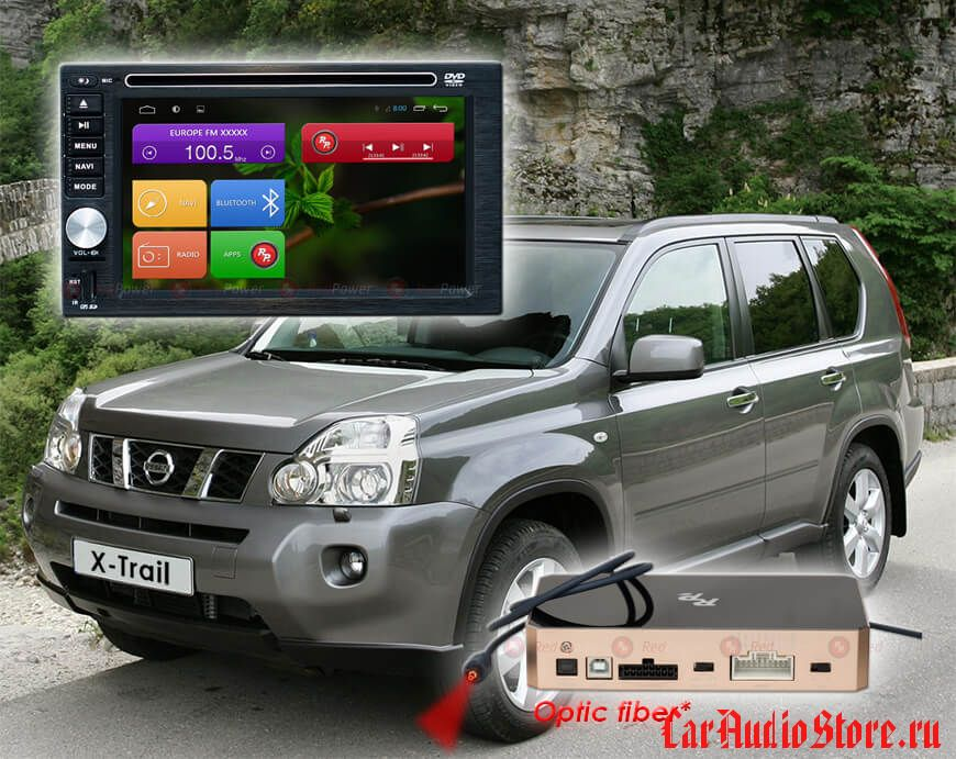 Nissan Redpower 31001 DVD DSP ANDROID 7, 2 din
