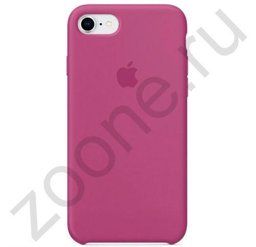 Силиконовый чехол цвета орхидеи для iPhone SE/8/7 Silicone Case