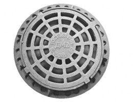 Дождеприемник чугунный круглый ДМ1 ( С250 ) 1-60