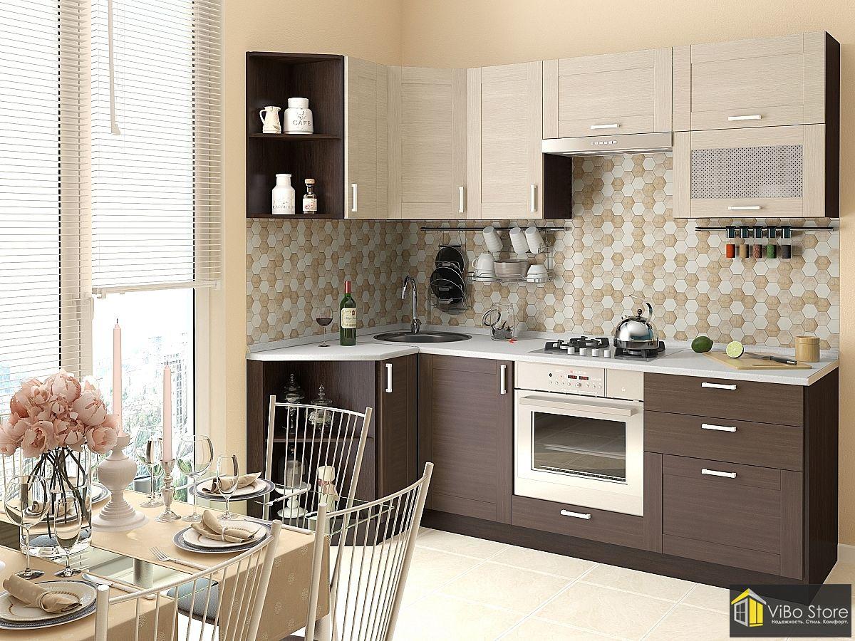 Современная кухня цвет капучино