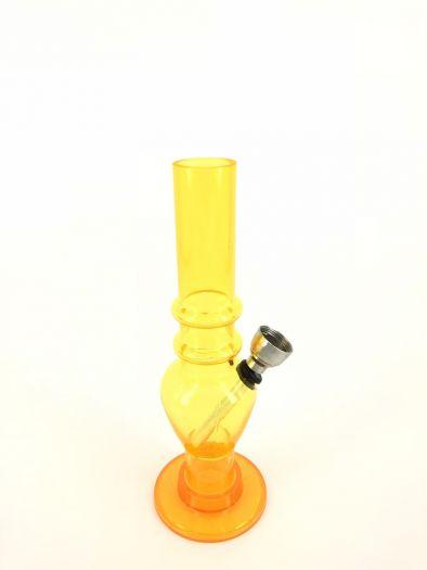 Бонг пластик желтый