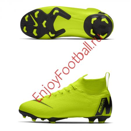 Детские бутсы NIKE SUPERFLY VI ELITE FG AH7340-701 JR