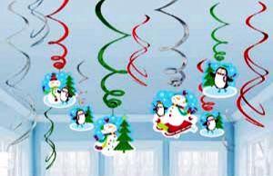 Набор спиралей Снеговик (12 шт)