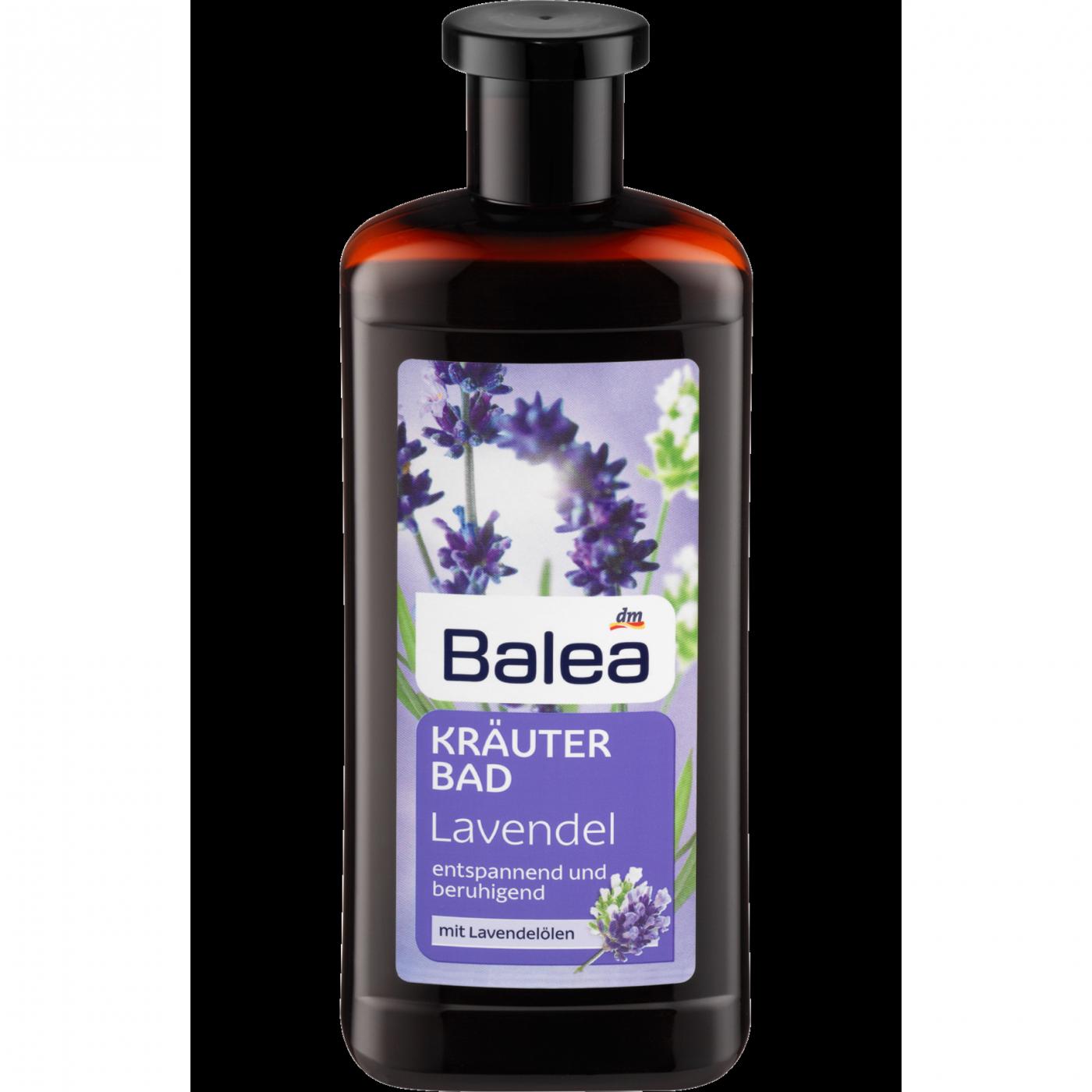 Травяная ванна с лавандовым маслом