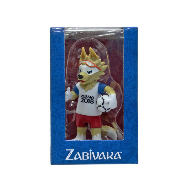 FIFA-2018 фигурка Zabivaka Standard 9 см в подарочной коробоке