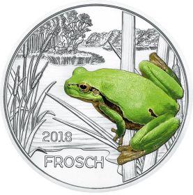Лягушка 3 евро Австрия 2018