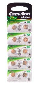 Camelion Allkalaine AG6 /10/цена за 1 шт