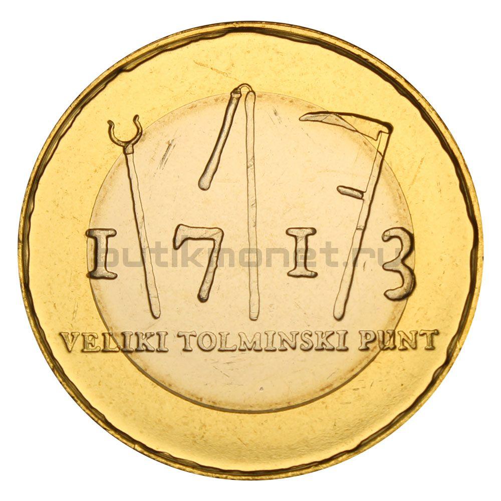 3 евро 2013 Словения 300 лет крестьянскому восстанию в Толмино