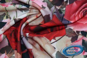 """Костюмная ткань принт """"Барби"""" VT-9982/D#14"""