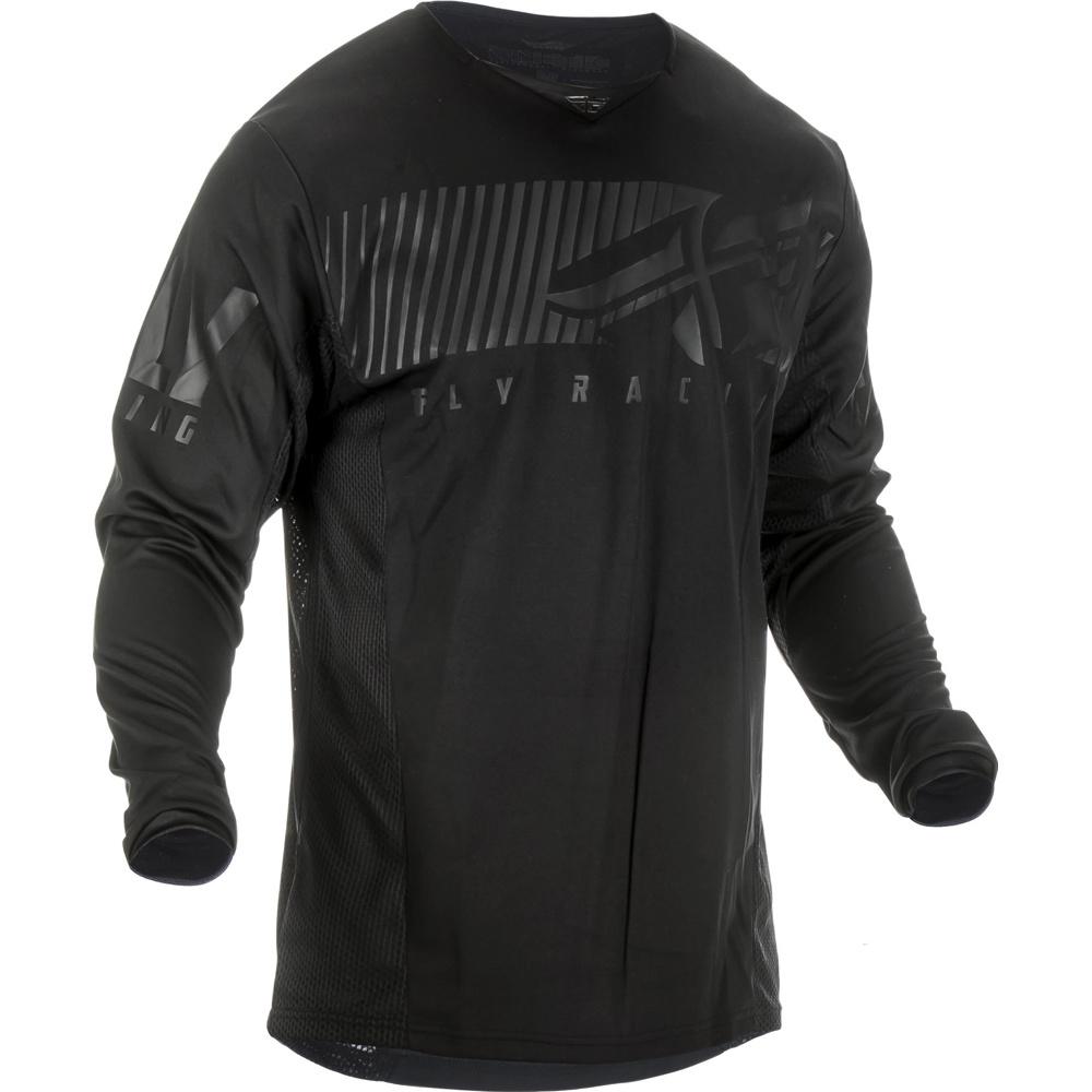 Fly - 2019 Kinetic Shield Black джерси, черное