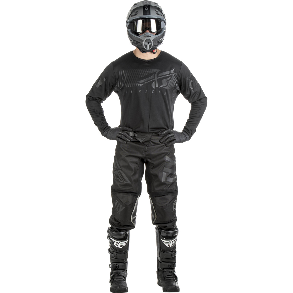 Fly - 2019 Kinetic Shield Black комплект джерси и штаны, черные
