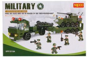 Конструктор детский Лего Армия 6 в 1,  410 деталей