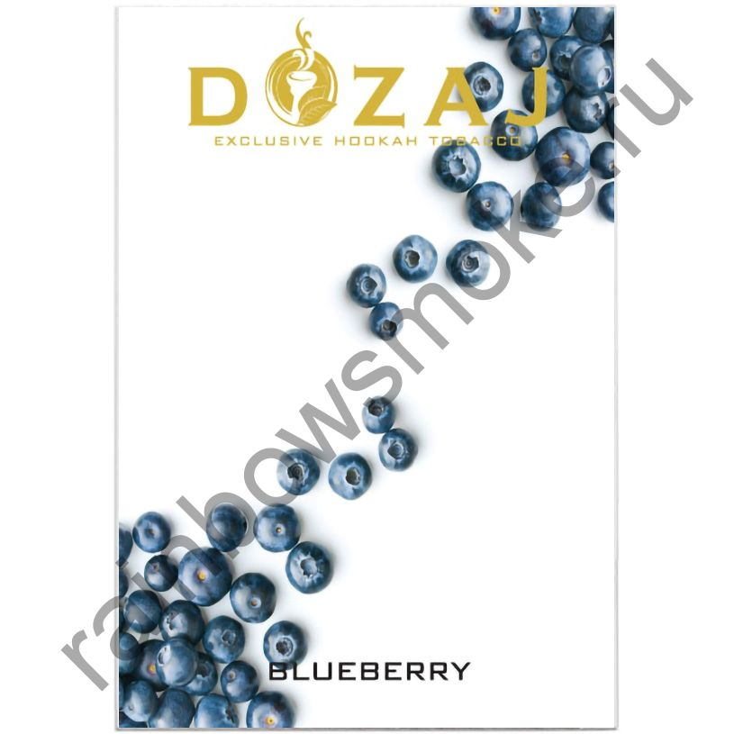 Dozaj 50 гр - Blueberry (Черника)