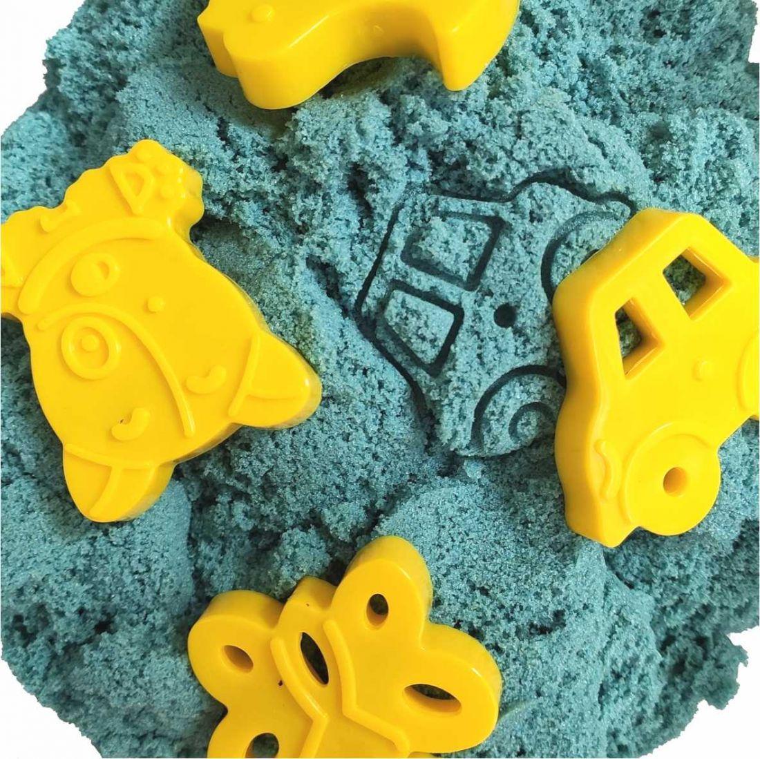 Голубой Кинетический песок 250-500 гр