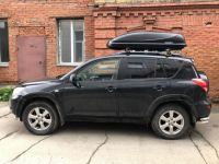 Автомобильный бокс на крышу, Bonus Black 425 литров, черный матовый