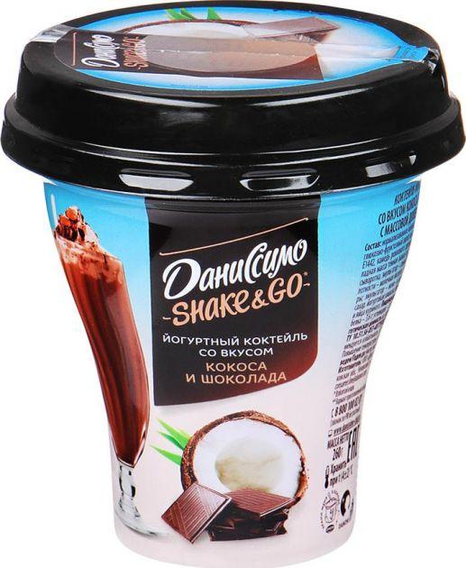 Коктейль Даниссимо Кокос-Шоколад