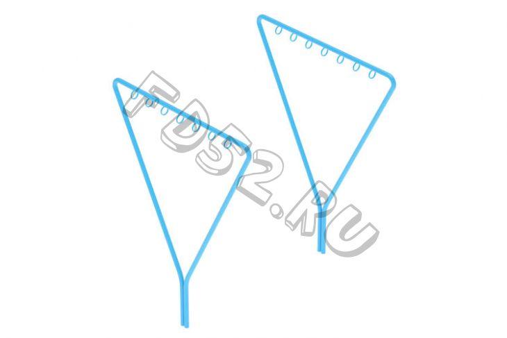 Комплект стоек для сушки белья (1пара)                                           1700х42х1800(МФ 06-601)