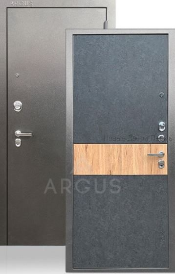 Аргус Фьюри «ДА-65» Штукатурка графит, сталь 2мм