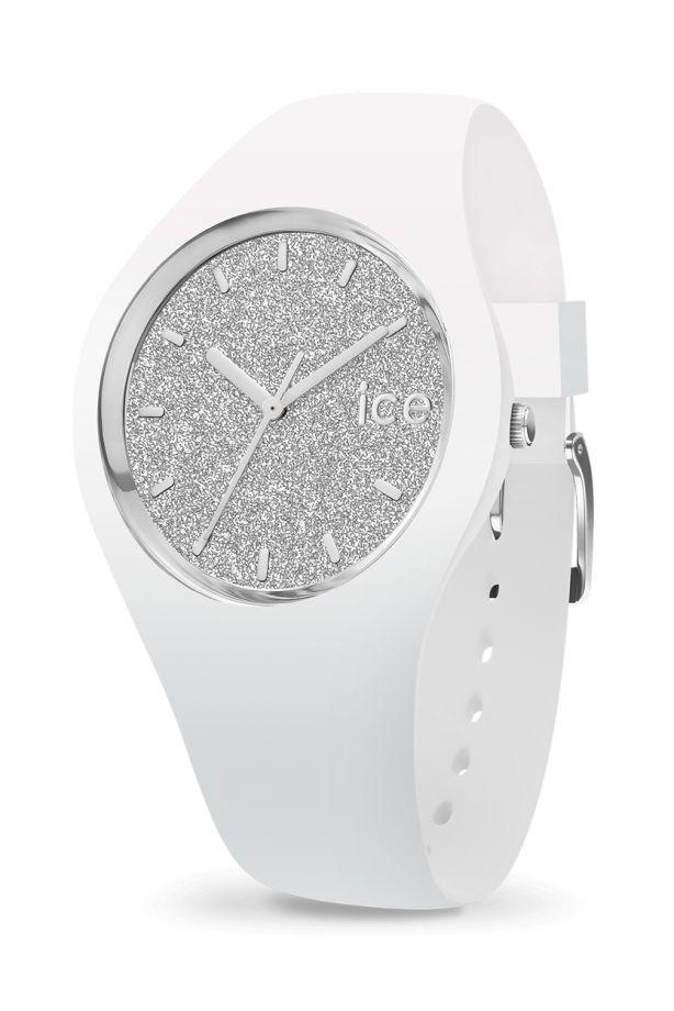 Ice-Glitter - White Silver