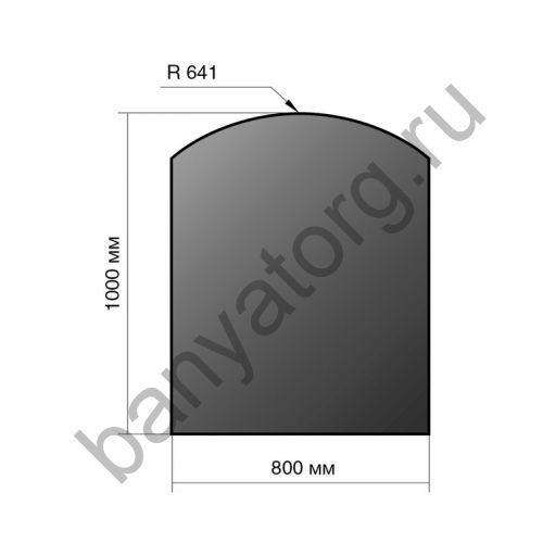 Лист напольный Везувий 1000Х800Х2 R 641