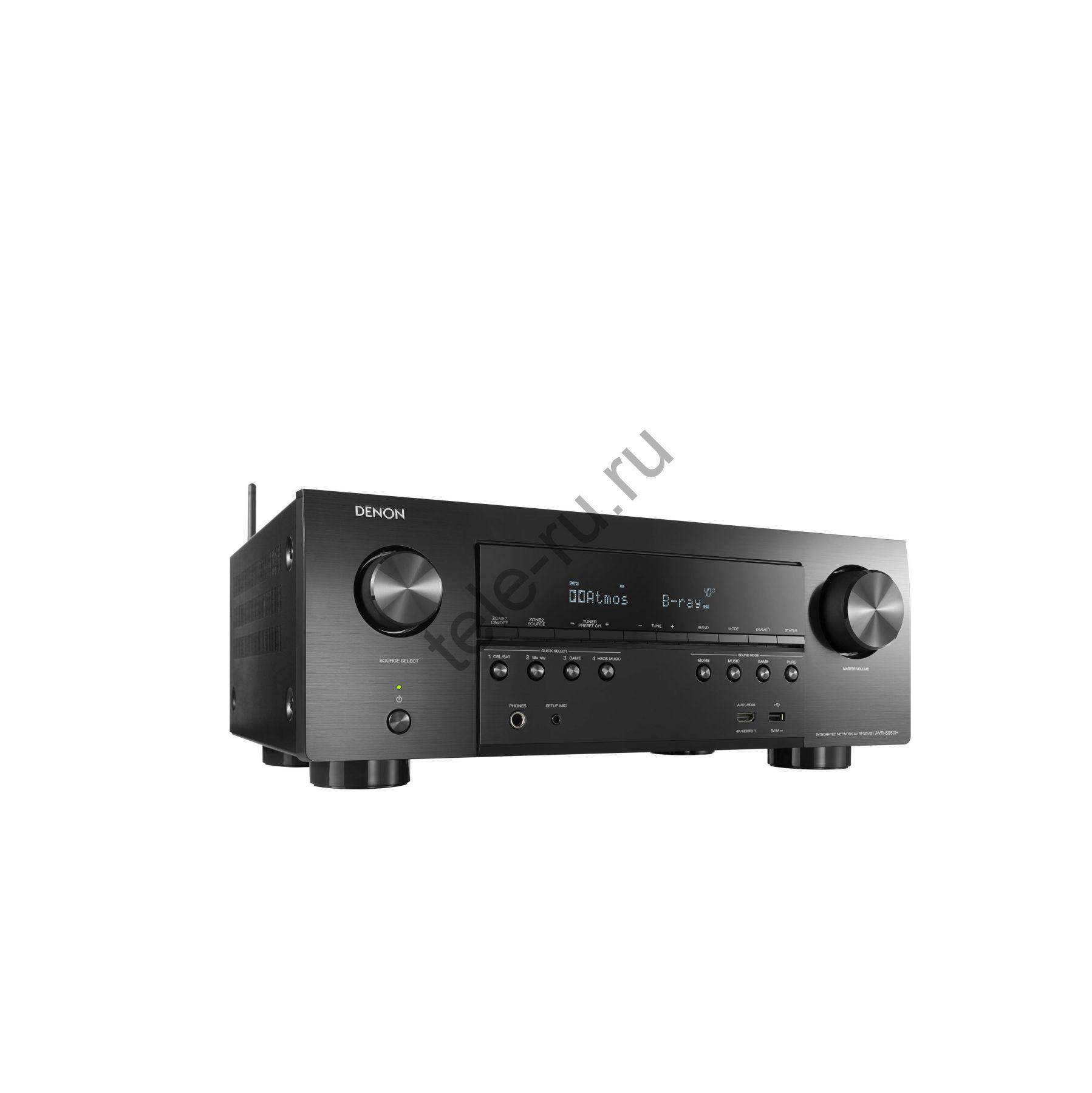 AV Ресиверы DENON AVR-S950H