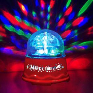 Настольный диско-шар (9 см, от батареек)