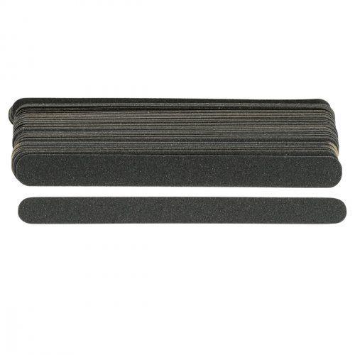 """Сменные картриджи для пилочки-основы """"длинная"""", 240 грит / 50 шт, черные   SOFIPROFI"""