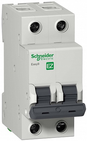 SE EASY 9 Автоматический выключатель 2P 25A (C)