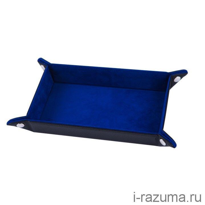 Дайс-трей прямоугольник «Синий бархат»