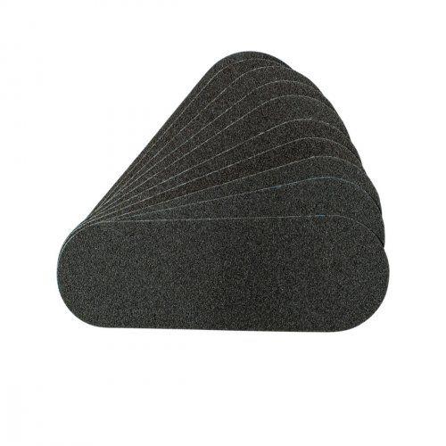 Сменные картриджи для пилочки-основы педикюрной черные, 240 грит / 10 шт  SOFIPROFI