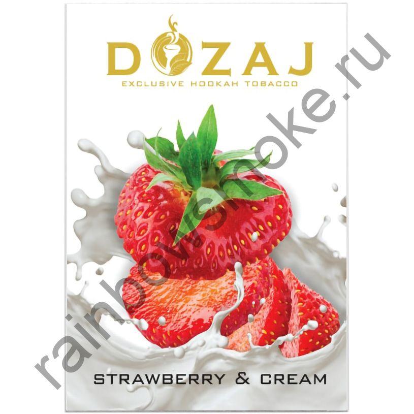 Dozaj 50 гр - Strawberry & Cream (Клубника со Сливками)