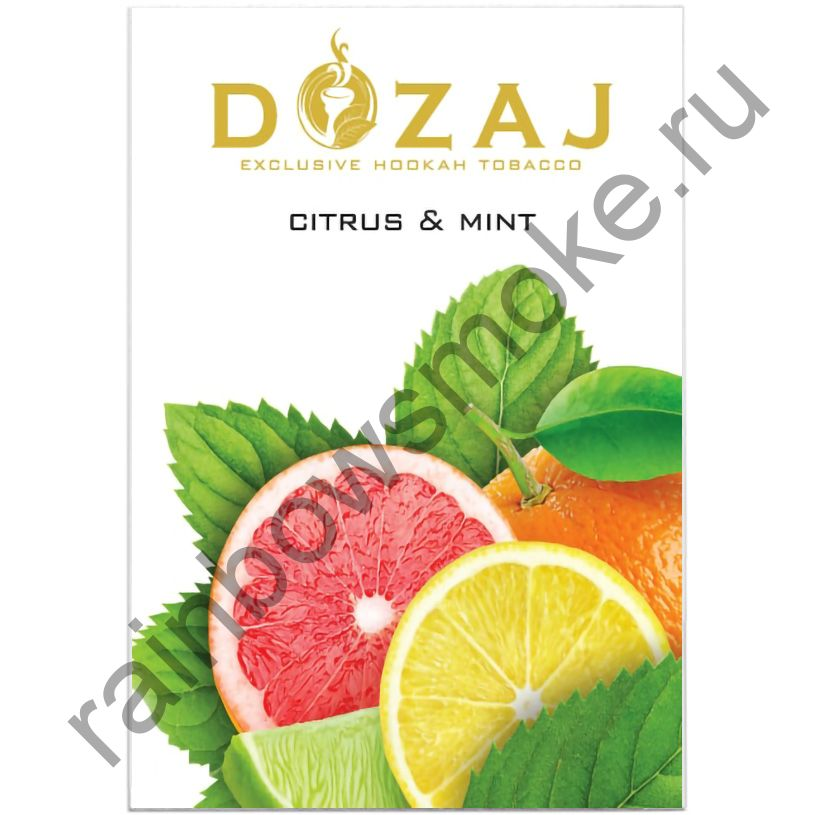 Dozaj 50 гр - Citrus & Mint (Цитрус с Мятой)