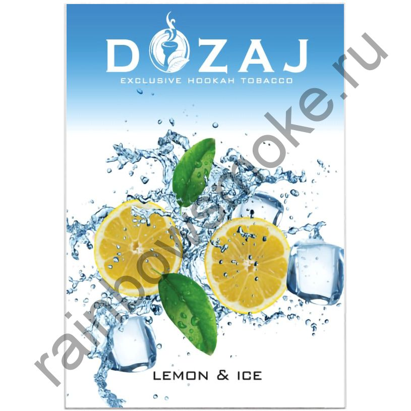 Dozaj 50 гр - Lemon & Ice (Лимон со льдом)
