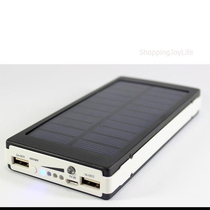 Power Bank с солнечной батареей 20000 mAh