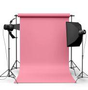 Фотофон виниловый Розовый ширина 2-2.5м