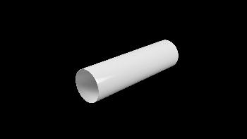 Воздуховод круглый ПВХ D125 L=0.5 м