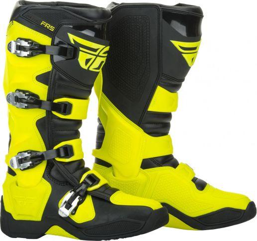 Fly - FR5 Hi-Viz мотоботы, желтые